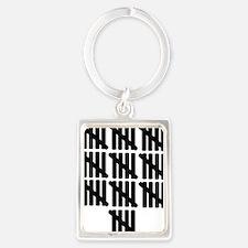 line_fifty Portrait Keychain