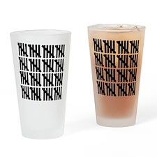 line_eighty Drinking Glass
