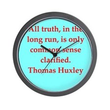 huxley1.png Wall Clock