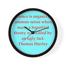 huxley13.png Wall Clock