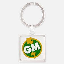 Groomsman Square Keychain