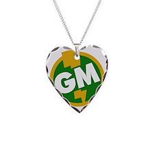 Groomsman Necklace Heart Charm