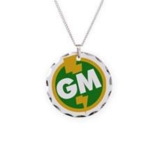 Groomsman Necklace Circle Charm