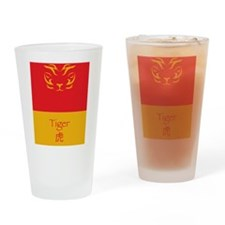 Tiger-Translated-01-5.5x8.5 Drinking Glass
