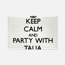 Keep Calm and Party with Talia Magnets
