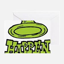 condom_happen_left_green Greeting Card
