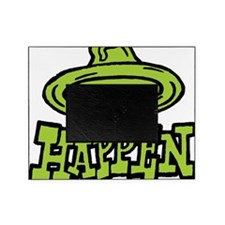 condom_happen_left_green Picture Frame