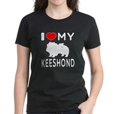 I Love My Keeshond Tee