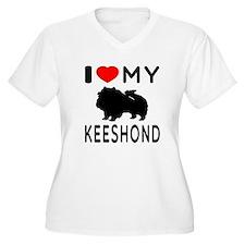 I Love My Keeshond T-Shirt
