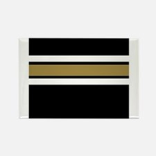 Team Colors....Black , gold and white Magnets
