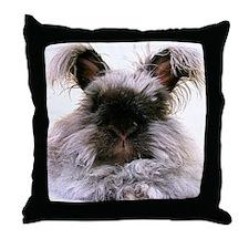 rabbit calendar Throw Pillow