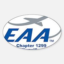 EAAChapter1299 Sticker (Oval)