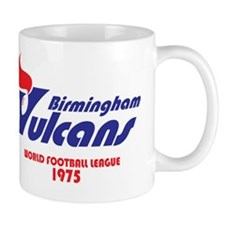 Birmingham Vulcans (on black) Small Small Mug