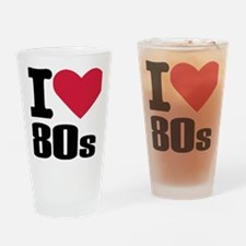 i_love_80s Drinking Glass