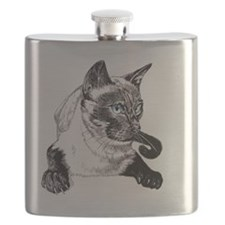 2-Siamese_NotecardHoriz Flask