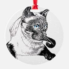 2-Siamese_NotecardHoriz Ornament