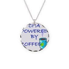 POWERED BY COFFEE cna1 Necklace