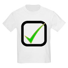 Check Mark Box T-Shirt