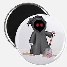 grim reaper valentineK Magnet
