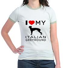 I Love My Italian Greyhound T