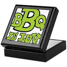 bbqisluv_GREEN Keepsake Box