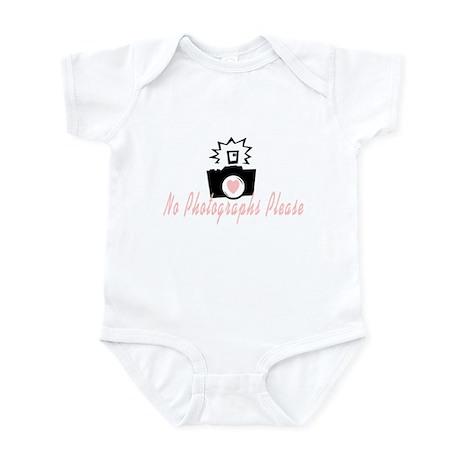 No Photographs Infant Bodysuit