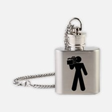 cameraman Flask Necklace