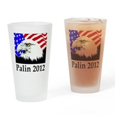 aaapalineagle_flag Drinking Glass