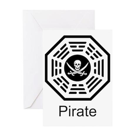 Dharma_Pirate Greeting Card
