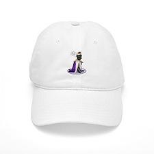 Black Labrador Prince Baseball Cap
