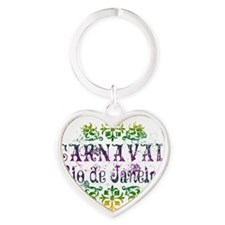 carnaval-rio Heart Keychain