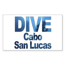 DIVE Cabo San Lucas Rectangle Decal