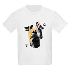 Belgian Trio Kids T-Shirt