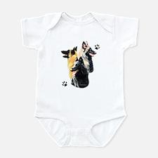 Belgian Trio Infant Bodysuit
