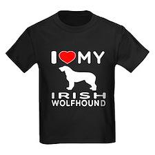 I Love My Irish Wolfhound T