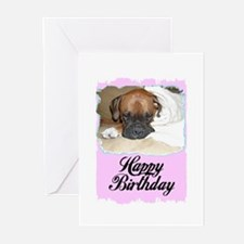 HAPPY BIRTHDAY BOXER Greeting Cards (Pk of 10)