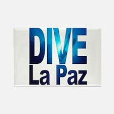 DIVE La Paz Rectangle Magnet