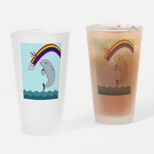 narwhalwider Drinking Glass