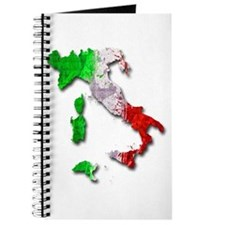 Italy Map Journal