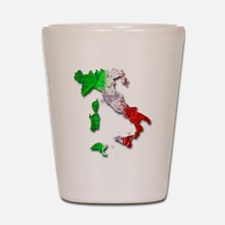 Italy Map Shot Glass