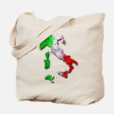 Italy Map Tote Bag