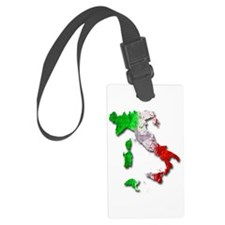 Italy Map Luggage Tag