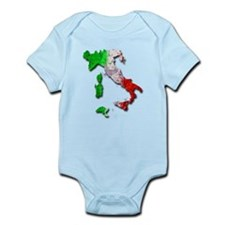 Italy Map Body Suit