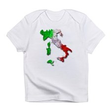Italy Map Infant T-Shirt