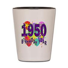 Birthday Year 50 Shot Glass