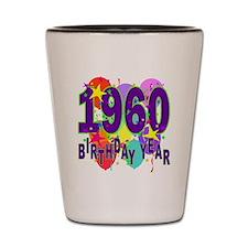 Birthday Year 60 Shot Glass