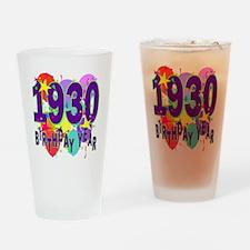Birthday Year 30 Drinking Glass