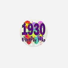 Birthday Year 30 Mini Button