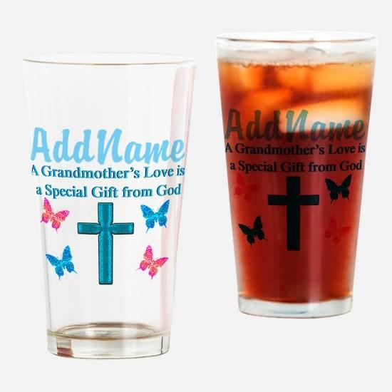 ADORING GRANDMA Drinking Glass