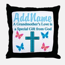 ADORING GRANDMA Throw Pillow